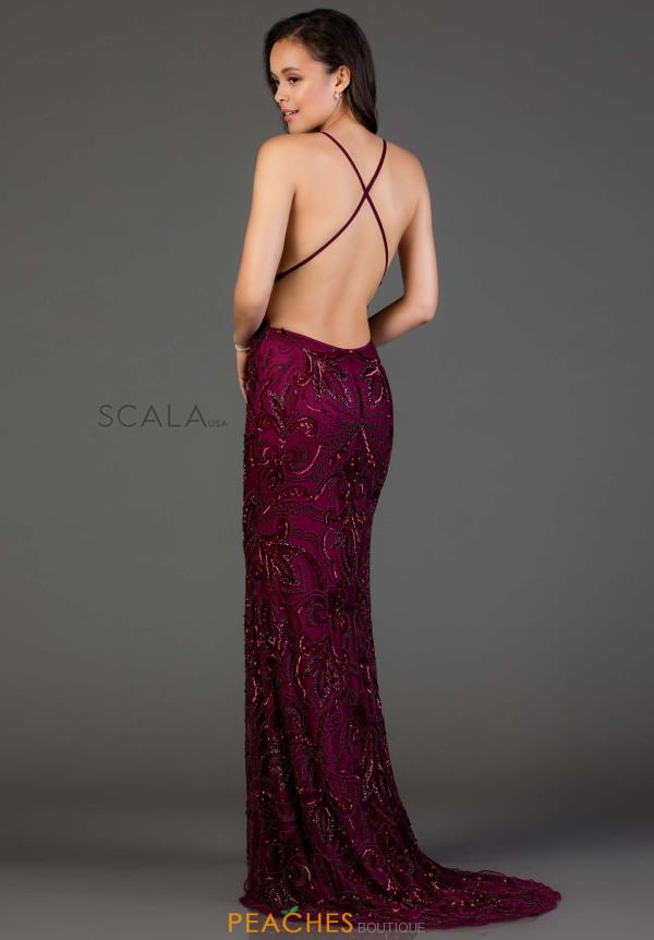 Sexy Beaded Scala Dress 48557