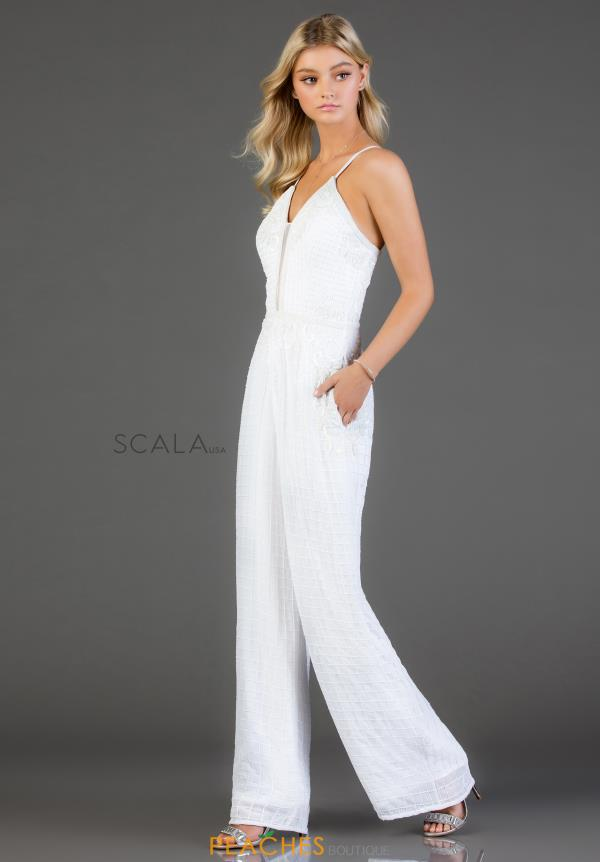 Scala Beaded Jump Suit 48995