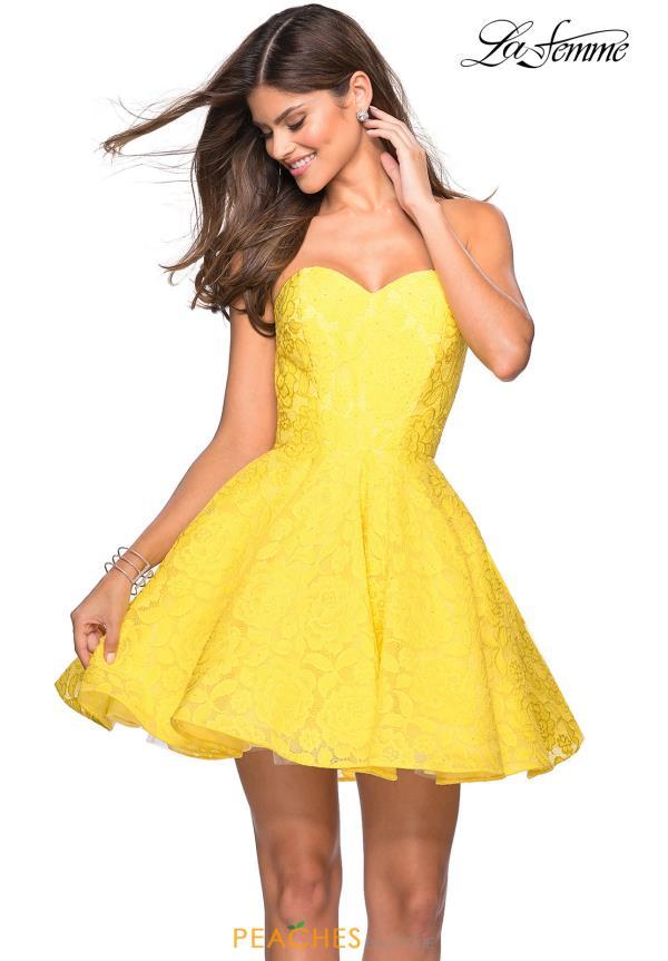 La Femme Short Dress 27334