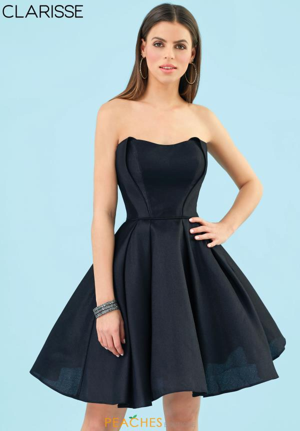 Clarisse Strapless Mikado Dress 3905