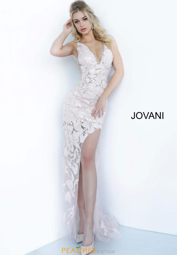 Jovani Lace Fitted Dress 4084