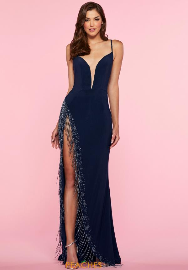 Alisha Hill Beaded Jersey Dress 80051