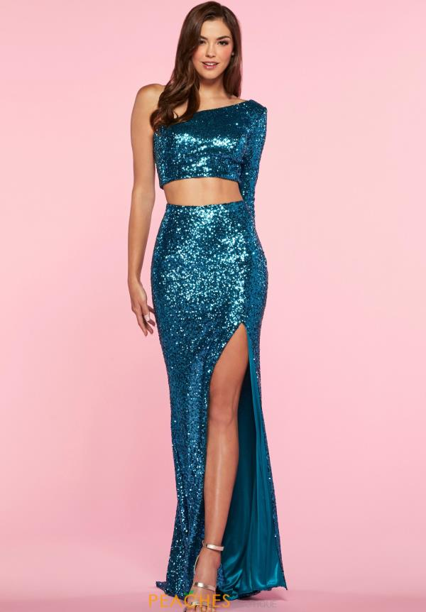 Alisha Hill Two Piece Beaded Dress 80054