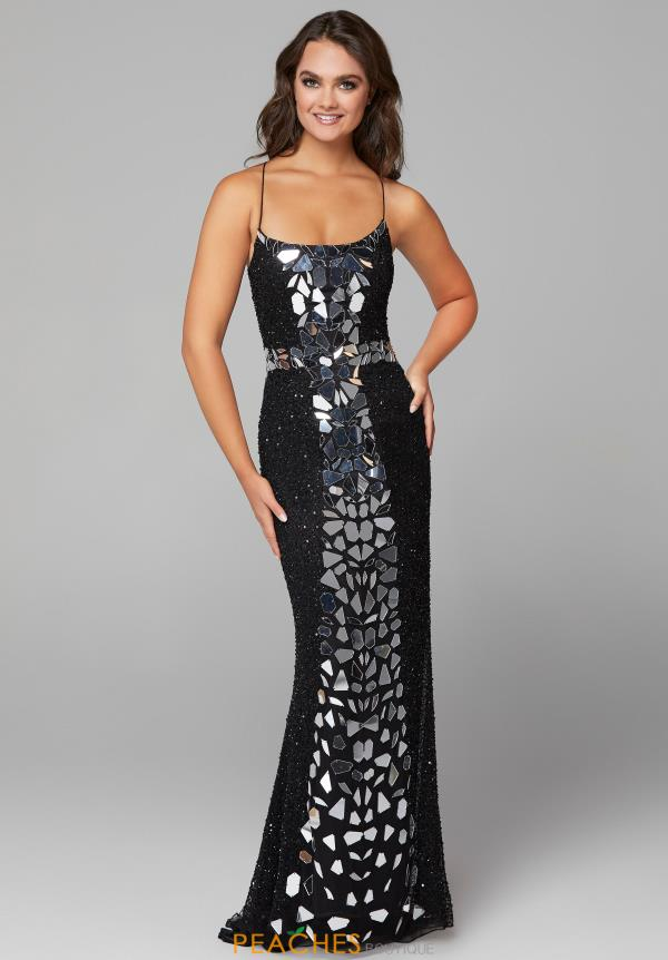 Primavera Long Beaded Dress 3616