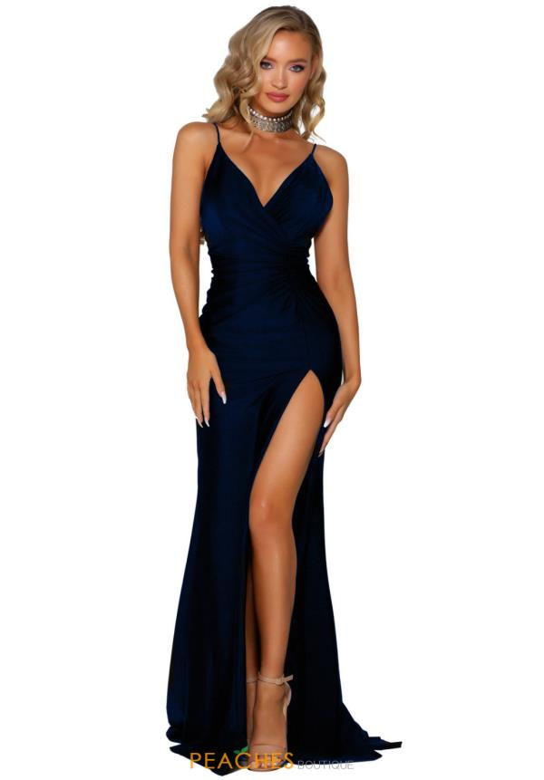 Portia and Scarlett Long Fitted Prom Dress PS6322