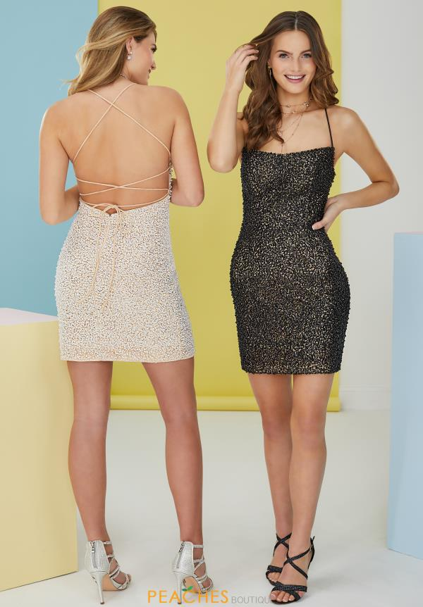 Tiffany Short Fitted Dress 27295