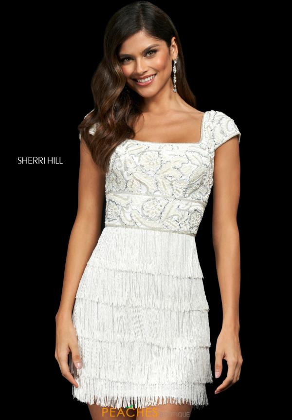Sherri Hill Short Dress 54080
