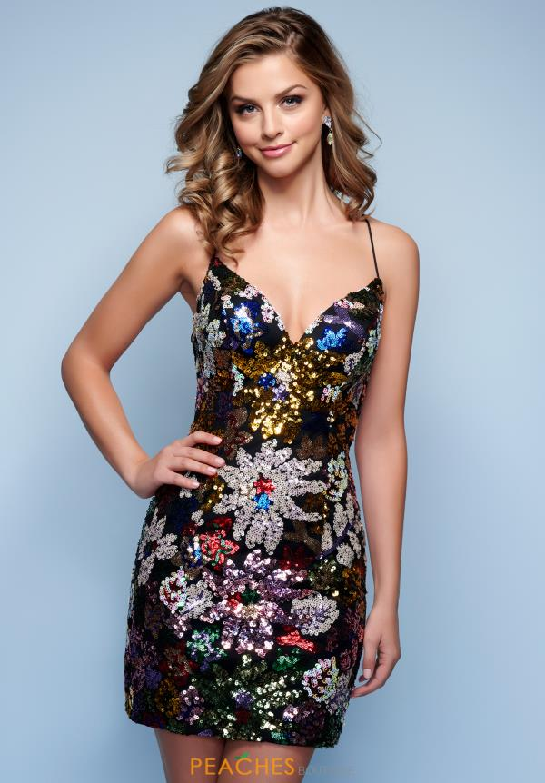 Splash Dress F133