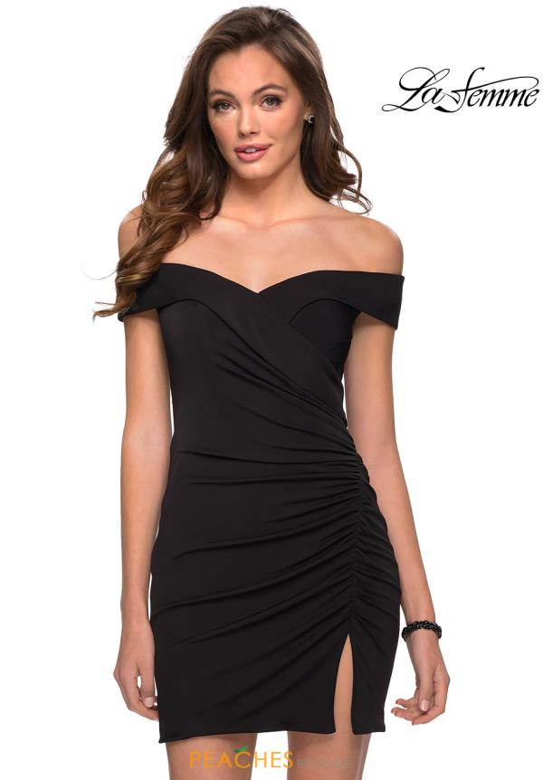 La Femme Short Dress 29279