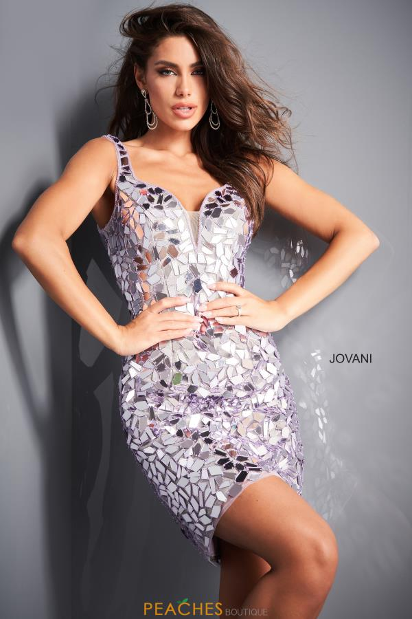 Jovani Short Dress 04517