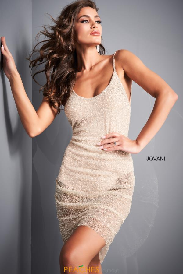 Jovani Short Dress 04865