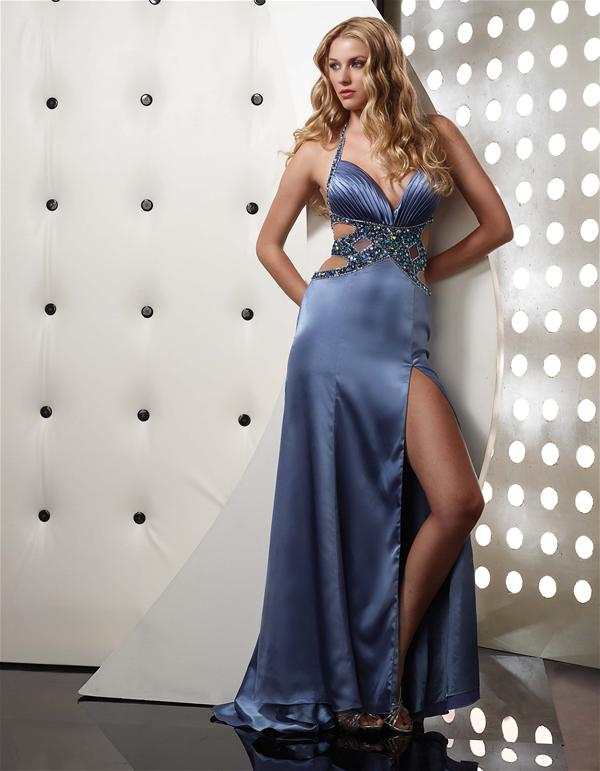 Jasz Couture Halter Top Dress 4357