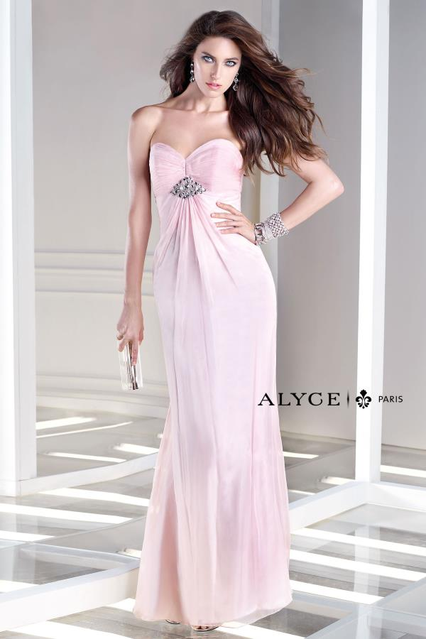 Long Chiffon B'Dazzle Prom Dress 35709