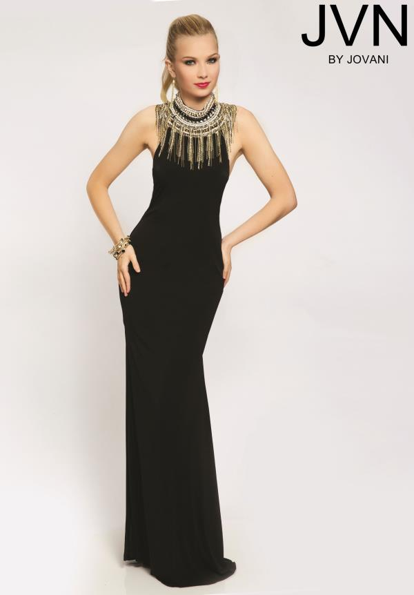 JVN by Jovani Open Back Dress JVN98114