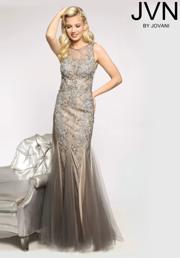 JVN by Jovani Gorgeous Beaded Dress JVN98665