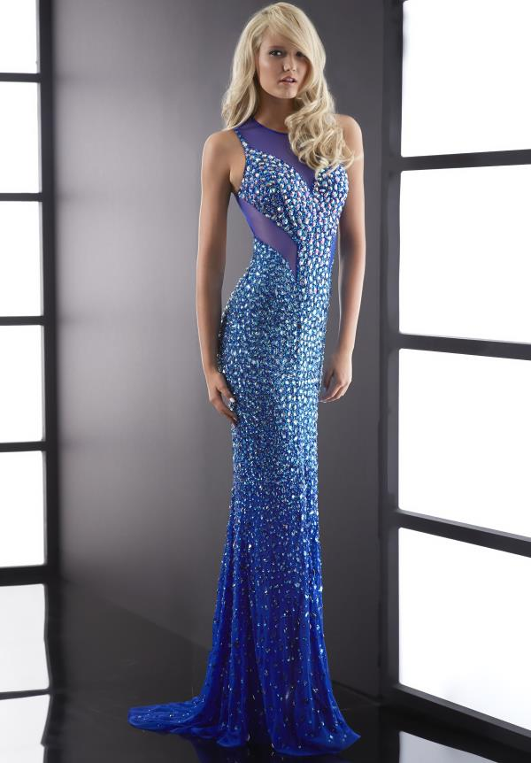 Jasz Couture Fully Beaded Dress 5058