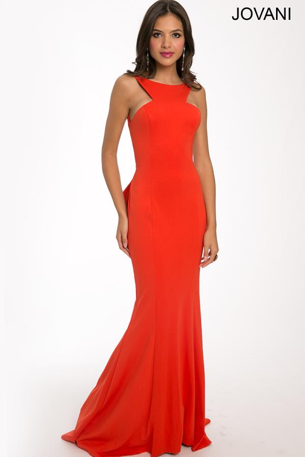 Elegant Fitted Formal Dress JVN21899