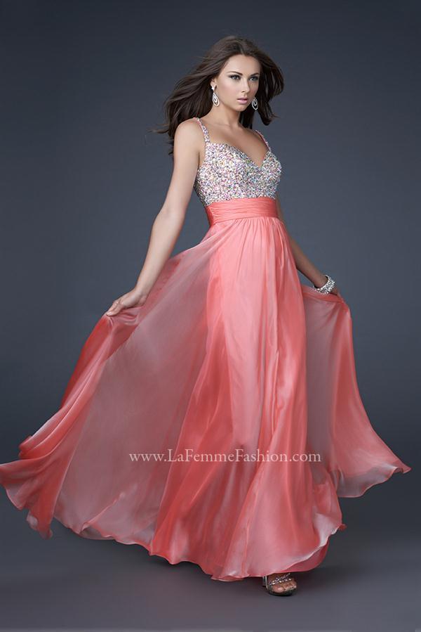 La Femme Dress 16802 | PeachesBoutique.com