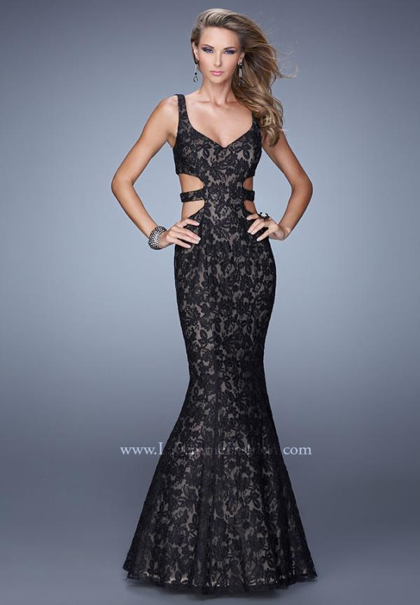 Sexy Fitted La Femme Prom Dress 20824