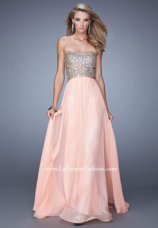 Amazing Beaded Bodice La Femme Dress 20904