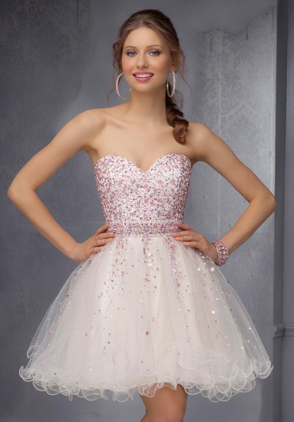 Mori Lee Prom Dress Short