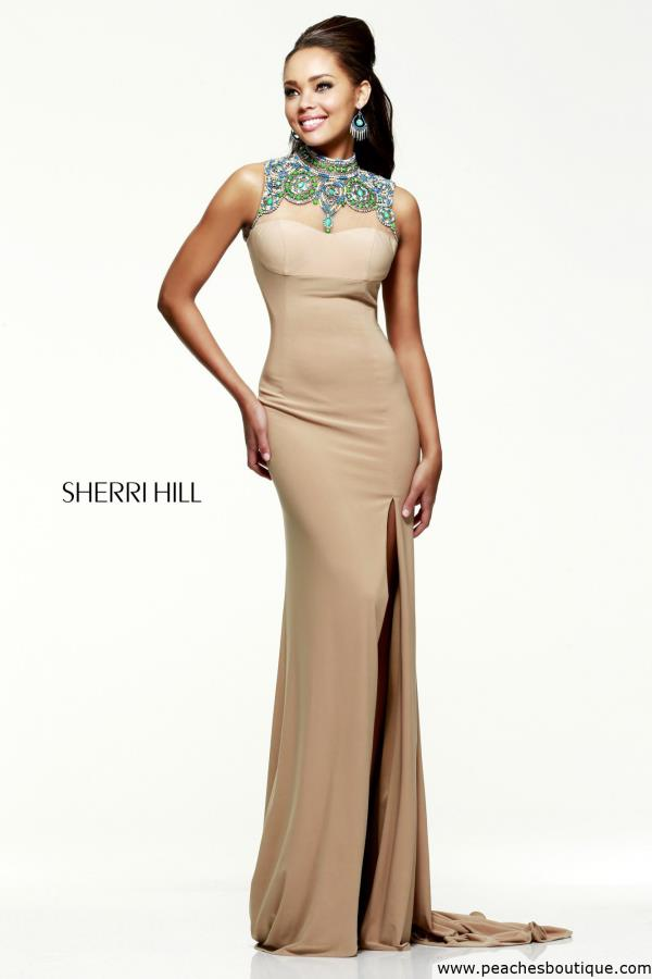 Sherri Hill Sexy Open Back Dress 21370