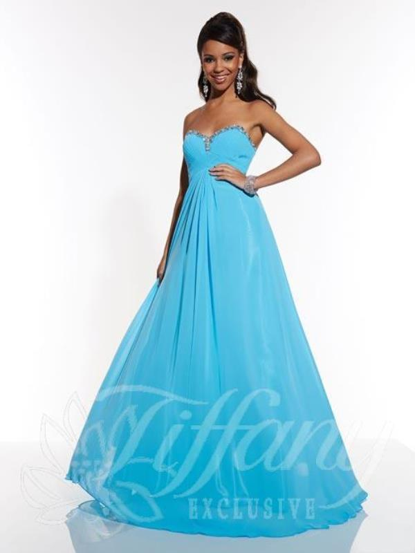 Tiffany A Line Prom Dress 46928EX