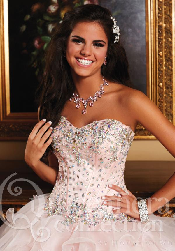 Tiffany Quince Beaded Corset Dress 26759