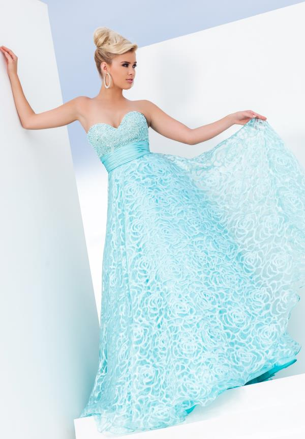 Tony Bowls Le Gala Organza Dress 115550