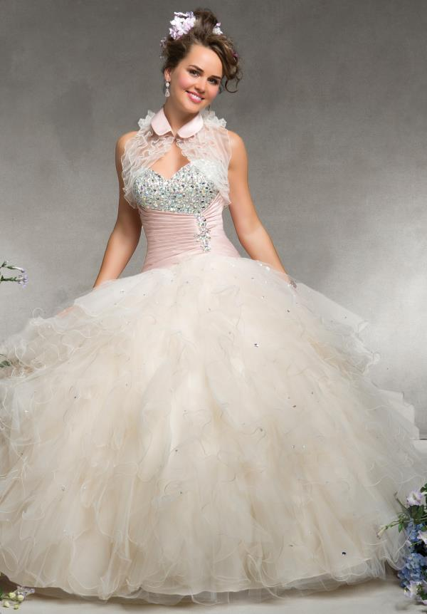 Vizcaya 88075 Ball Gown Quinceanera Dress