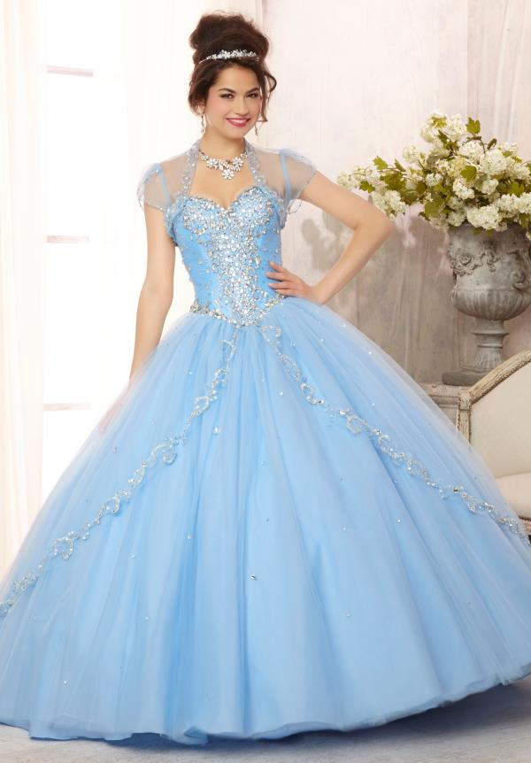 Strapless Vizcaya Quinceanera Dress 88088