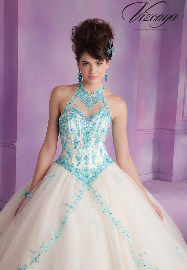 Vizcaya Quinceanera Ball Gown Dress 89001