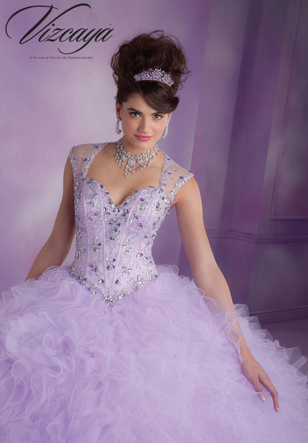 Vizcaya Quinceanera Beaded Dress 89010