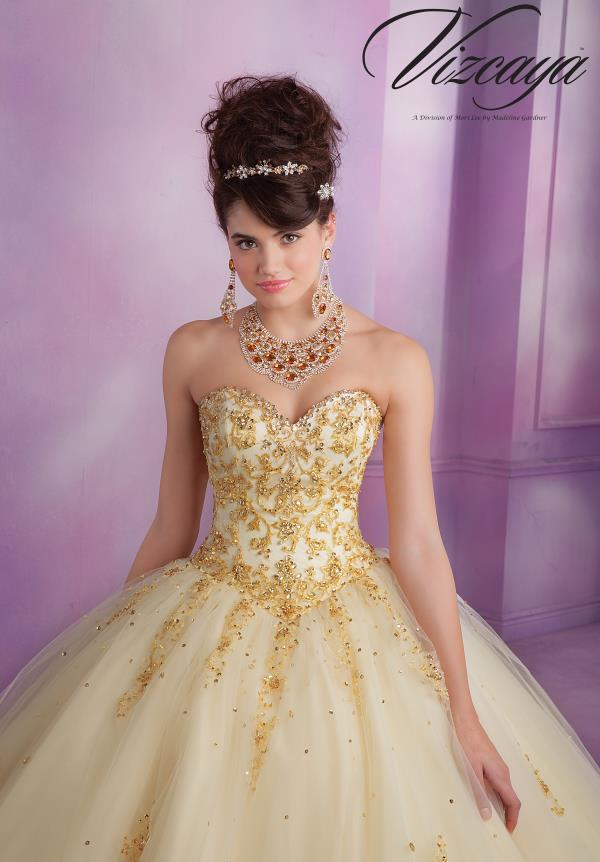 Vizcaya Quinceanera Sweetheart Dress 89015