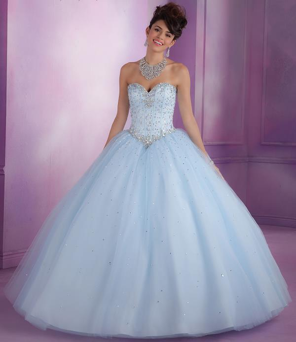 Vizcaya Quinceanera Corset Dress 89017
