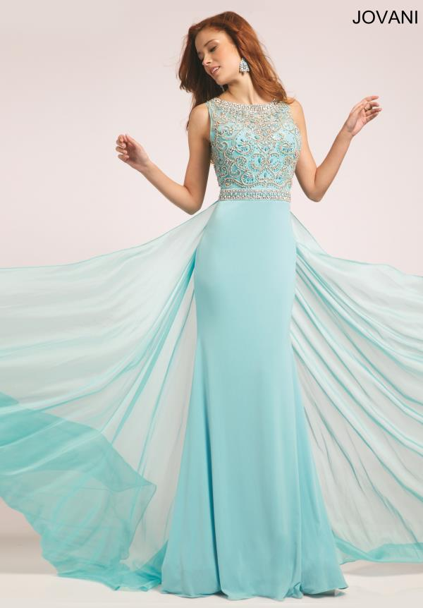 Jovani Jersey Fitted Dress 21029