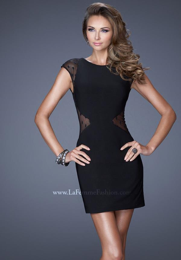 La Femme Sleeved Dress 20577