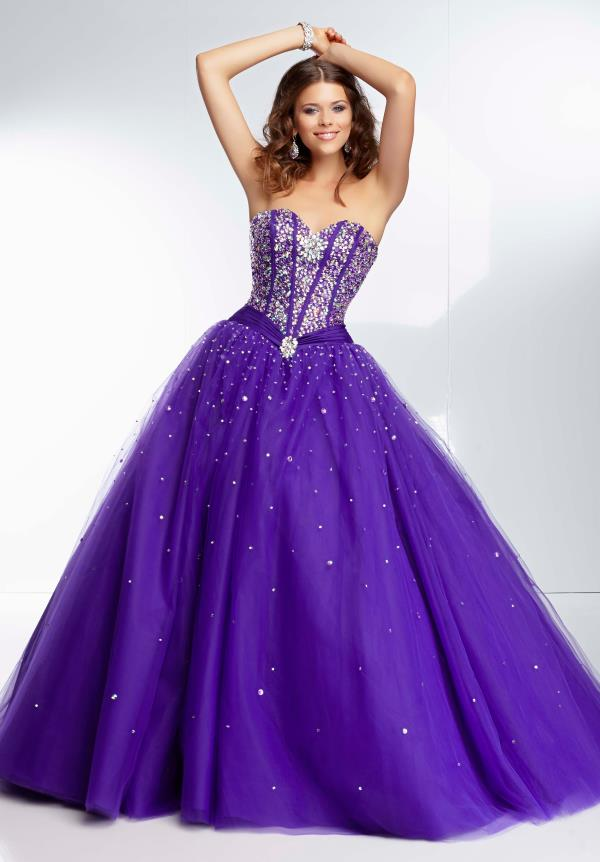 Amazing Mori Lee Long Dress 95075