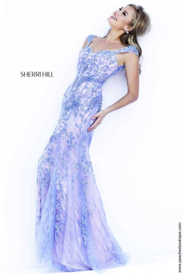 Sherri Hill Dress 9742 | PeachesBoutique.com