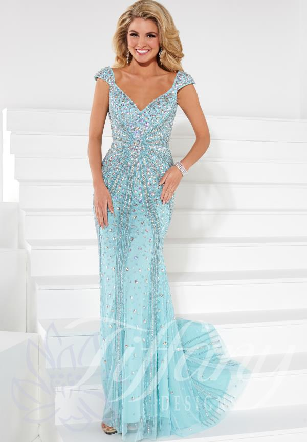 Tiffany Beaded Dress 16092