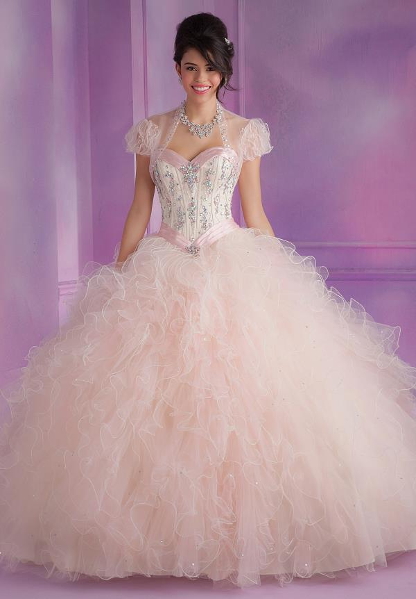 Vizcaya Quinceanera Corset Top Dress 88085