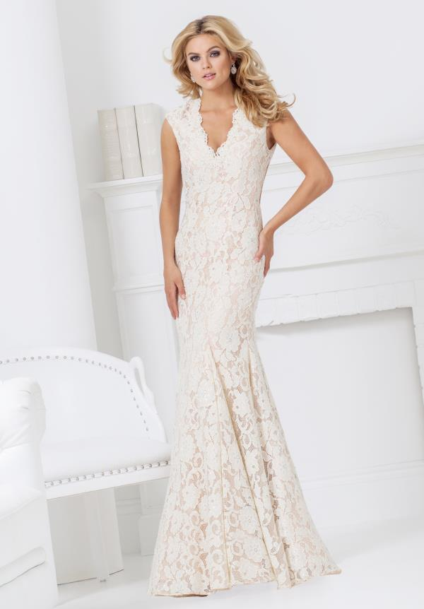 Tony Bowls V- Neckline Dress TBE11504