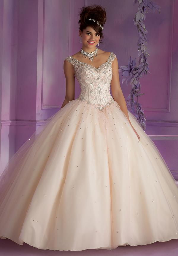 Two Straps Vizcaya Quinceanera Dress 89006