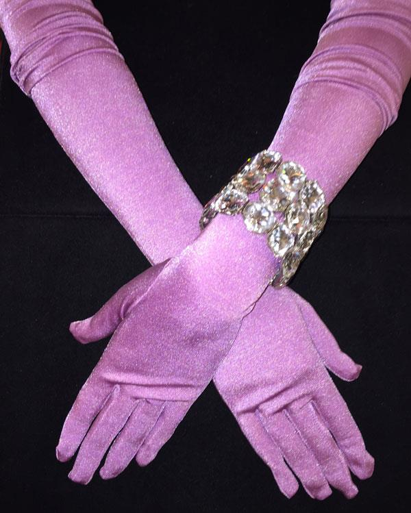 Tiffany Purple Matte Gloves