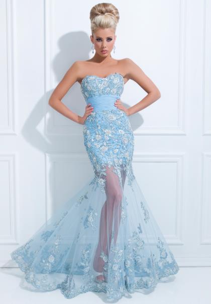 Tony Bowls Mermaid Dress Tbe11432