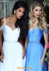 Ivory and Periwinkle