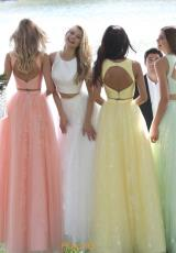 Coral, Ivory, Yellow, Light Green