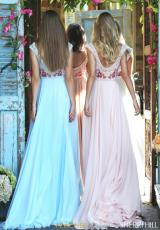 Light Blue, Nude, Blush, Ivory
