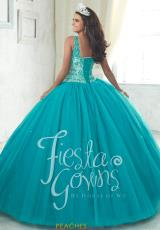 085afa80c84 Tiffany Tulle Beaded Quinceanera Dress 56314. Peacock  Peacock  Peacock  Red