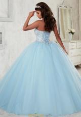 c775e74ebad Tiffany Quinceanera Beaded Sweetheart Gown 56298. Krystal Blue  Krystal  Blue ...
